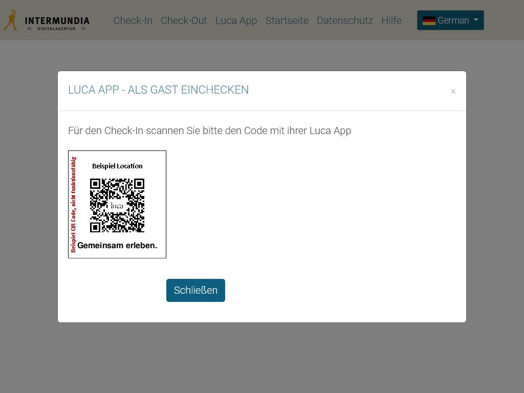 luca-App-als-Gast-Einchecken