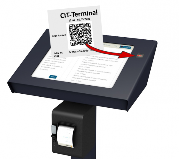 Check-out QR Code Scanner