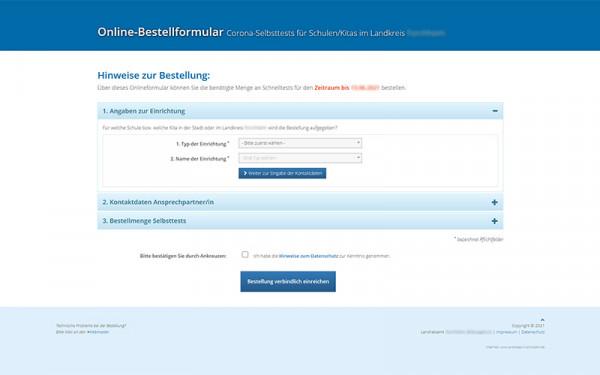 Zentrale Online-Bedarfsmeldung als Cloud Lösung